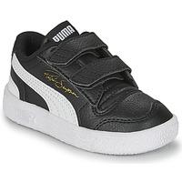 Παπούτσια Παιδί Χαμηλά Sneakers Puma RALPH SAMPSON LO INF Black / Άσπρο