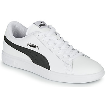 Παπούτσια Άνδρας Χαμηλά Sneakers Puma SMASH Άσπρο / Black