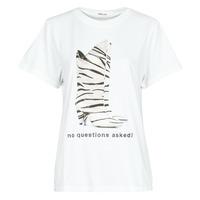 Υφασμάτινα Γυναίκα T-shirt με κοντά μανίκια Replay W3509D Άσπρο