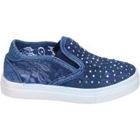Παπούτσια Κορίτσι Slip on Asso slip on tessuto blu
