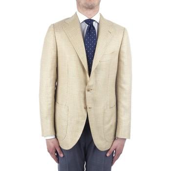 Υφασμάτινα Άνδρας Σακάκι / Blazers Cesare Attolini S20MA43 Yellow