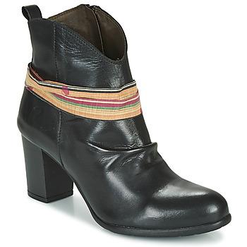 Παπούτσια Γυναίκα Μποτίνια Felmini EMORI Black