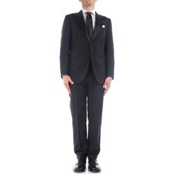 Υφασμάτινα Άνδρας Κοστούμια Kiton K06S79/05 Blue