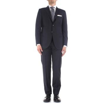 Υφασμάτινα Άνδρας Κοστούμια Kiton K06S12/36 Blue