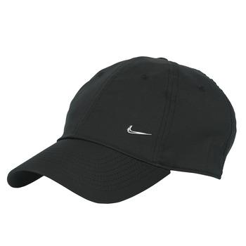 Αξεσουάρ Κασκέτα Nike U NSW H86 METAL SWOOSH CAP Black / Silver