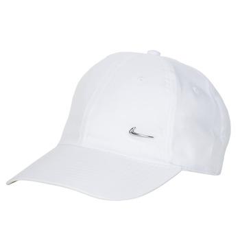 Αξεσουάρ Κασκέτα Nike U NSW H86 METAL SWOOSH CAP Άσπρο / Silver