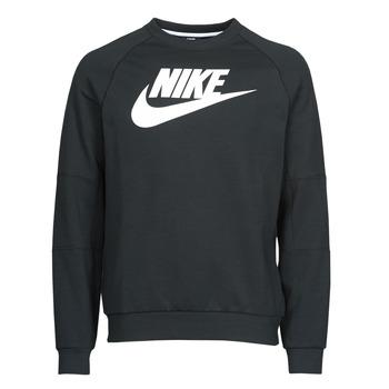 Υφασμάτινα Άνδρας Φούτερ Nike M NSW MODERN CRW FLC HBR Black / Άσπρο