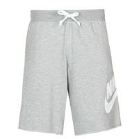 Υφασμάτινα Άνδρας Σόρτς / Βερμούδες Nike M NSW SCE SHORT FT ALUMNI Grey