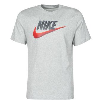 Υφασμάτινα Άνδρας T-shirt με κοντά μανίκια Nike M NSW TEE BRAND MARK Grey