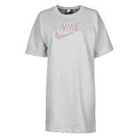 Υφασμάτινα Γυναίκα Κοντά Φορέματα Nike W NSW DRESS FT M2Z Grey