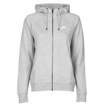 Υφασμάτινα Γυναίκα Φούτερ Nike W NSW ESSNTL HOODIE FZ FLC Grey