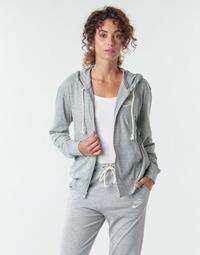 Υφασμάτινα Γυναίκα Φούτερ Nike W NSW GYM VNTG HOODIE FZ Grey