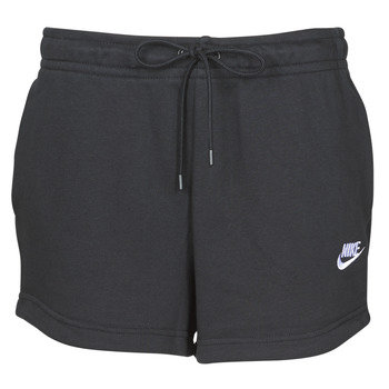 Υφασμάτινα Γυναίκα Σόρτς / Βερμούδες Nike W NSW ESSNTL SHORT FT Black