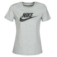 Υφασμάτινα Γυναίκα T-shirt με κοντά μανίκια Nike W NSW TEE ESSNTL ICON FUTUR Grey