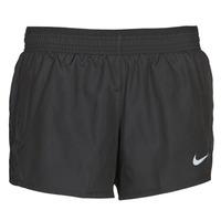 Υφασμάτινα Γυναίκα Σόρτς / Βερμούδες Nike W NK 10K SHORT Black