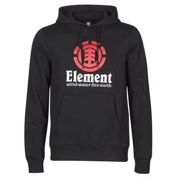 Υφασμάτινα Άνδρας Φούτερ Element VERTICAL HOOD Black