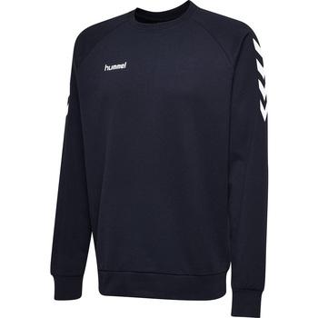 Υφασμάτινα Άνδρας Φούτερ Hummel Sweatshirt  hmlGO cotton bleu marine