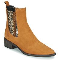 Παπούτσια Γυναίκα Μπότες Regard BASTIA V3 VEL HAVANE Brown