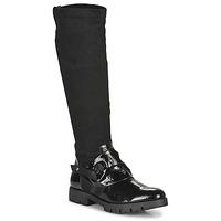 Παπούτσια Γυναίκα Μπότες για την πόλη Regard CANET V1 VERNIS NOIR Black