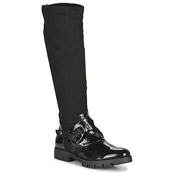 Μπότες για την πόλη Regard CANET V1 VERNIS NOIR