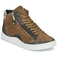 Παπούτσια Γυναίκα Ψηλά Sneakers Regard ISLANDE V2 BONGO CHAMOIS Brown