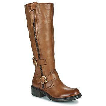 Παπούτσια Γυναίκα Μπότες για την πόλη Dream in Green NUCETTE Camel