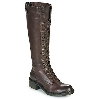 Παπούτσια Γυναίκα Μπότες για την πόλη Dream in Green NUCRE Brown