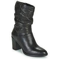 Παπούτσια Γυναίκα Μπότες για την πόλη Dream in Green NORGE Black