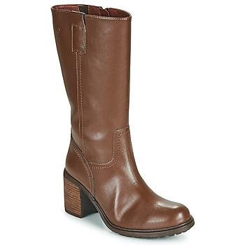 Παπούτσια Γυναίκα Μπότες για την πόλη Dream in Green NISCUIT Brown