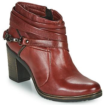 Παπούτσια Γυναίκα Χαμηλές Μπότες Dream in Green NEGUS Bordeaux