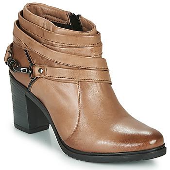 Παπούτσια Γυναίκα Χαμηλές Μπότες Dream in Green NEGUS Brown