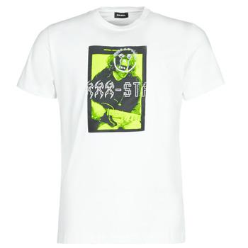 Υφασμάτινα Άνδρας T-shirt με κοντά μανίκια Diesel T-DIEGO J1 Άσπρο