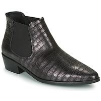 Παπούτσια Γυναίκα Μπότες Fericelli NANARUM Black / Silver