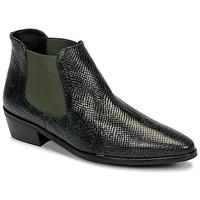 Παπούτσια Γυναίκα Μπότες Fericelli NANARUM Black / Green