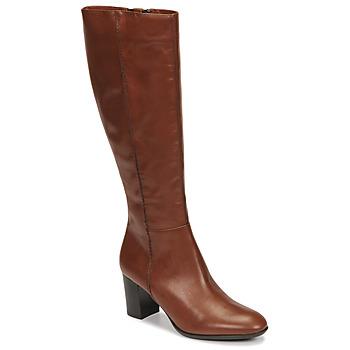 Παπούτσια Γυναίκα Μπότες για την πόλη Fericelli NAVAROIS Camel