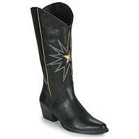 Παπούτσια Γυναίκα Μπότες για την πόλη Fericelli NISCOME Black / Gold