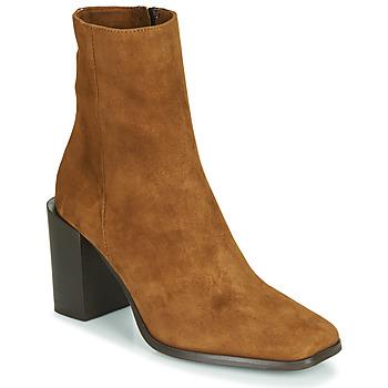 Παπούτσια Γυναίκα Μποτίνια Fericelli NRETZEL Camel