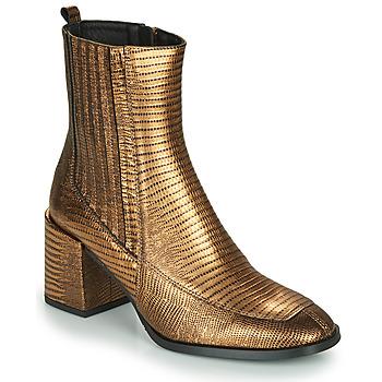 Παπούτσια Γυναίκα Μποτίνια Fericelli NAKE Gold