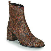 Παπούτσια Γυναίκα Μποτίνια Fericelli NAKE Black / Brown