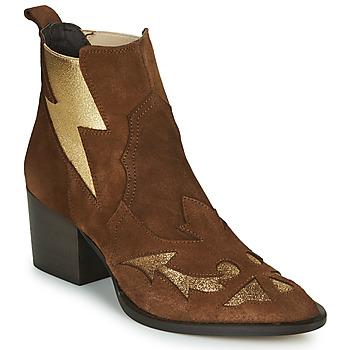 Παπούτσια Γυναίκα Μποτίνια Fericelli NAUSSON Beige / Gold