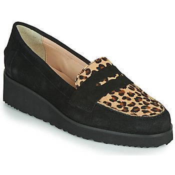 Παπούτσια Γυναίκα Μοκασσίνια Fericelli NECLAIR Black / Animal