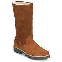 Παπούτσια Γυναίκα Μπότες για την πόλη Casual Attitude NESCAGO Camel