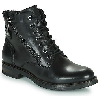 Παπούτσια Γυναίκα Μπότες Casual Attitude NUNAISE Black