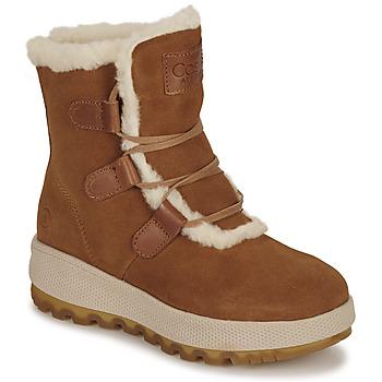 Παπούτσια Γυναίκα Μπότες Casual Attitude NAREIGNE Camel