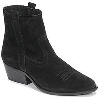 Παπούτσια Γυναίκα Μποτίνια Casual Attitude NAUTERELLE Black