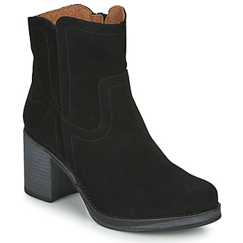 Παπούτσια Γυναίκα Μποτίνια Casual Attitude NIGALE Black