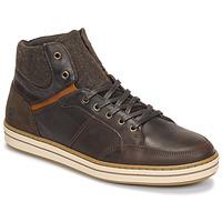 Παπούτσια Άνδρας Ψηλά Sneakers Casual Attitude NOURDON Brown
