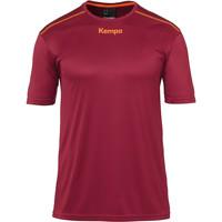Υφασμάτινα Αγόρι T-shirt με κοντά μανίκια Kempa Maillot  Poly rouge