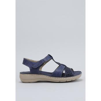 Παπούτσια Γυναίκα Σανδάλια / Πέδιλα Amanda  Μπλέ