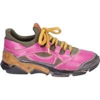 Παπούτσια Γυναίκα Χαμηλά Sneakers Moma Αθλητικά BM547 Ροζ